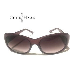 COLE HAAN Sunglasses Purple Plastic Polarized